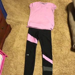 Under Armour Matching Workout Set